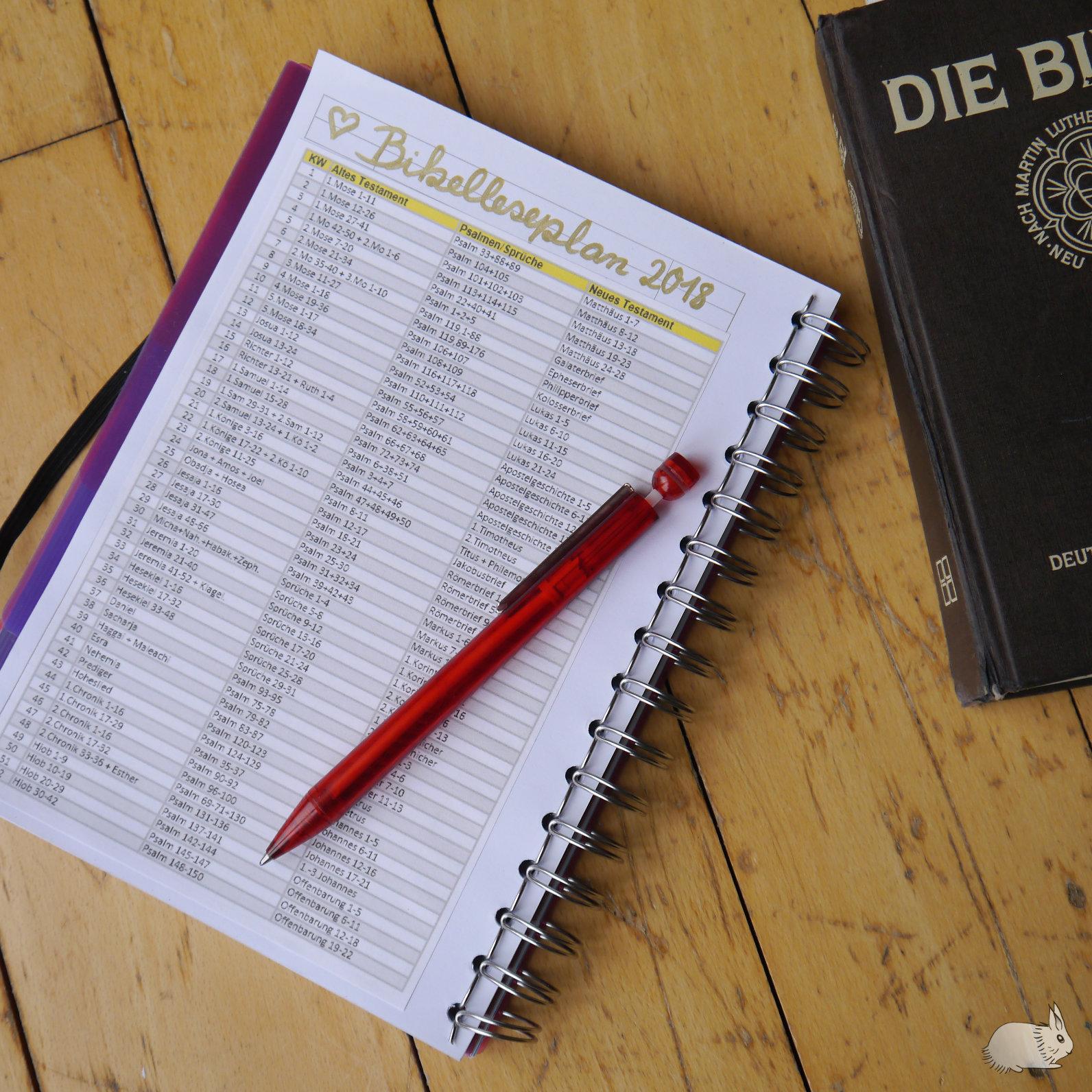Mein Bibelleseplan Für S Neue Jahr Mehr Als Juwelen